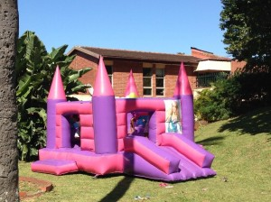 Girls Jumping Castle